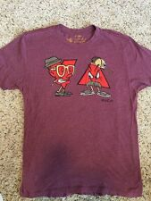RVCA  Artist Network Program T Shirt Purple Logo Men's Graphic Tee Sz XL Kd6