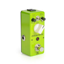 Aroma AGR-5 Mini Tube Screamer Overdrive/ Distortion Guitar Effects Pedal Green