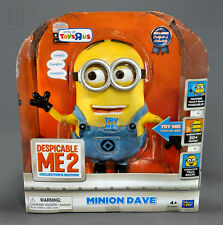 Despicable ME2 Me 2 Talking Minion Dave Collector's Edition Interactive Figure