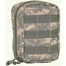 ACU Digital Camouflage Tactical First Responder Zipper Pouch - Large 8 x 6 x 3 I