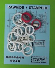 Stern / Chicago Coin Rawhide / Stampede rubber ring kit