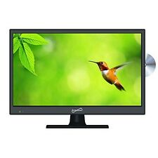 "Supersonic SC-1312 13 "" Led Widescreen Hdtv/Dvd Combo- NEW"
