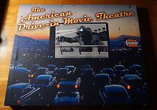 AMERICAN DRIVE-IN MOVIE THEATRE Theater Classic Retro Light Up Sign Decor NEW