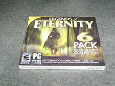 Legends of Eternity: 6 Pack Hidden Object Collection (PC, 2013) - FACTORY SEALED