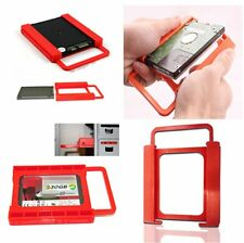 2.5 to 3.5 SSD HDD Notebook Hard Disk Drive Mounting Bracket Adapter Holder US