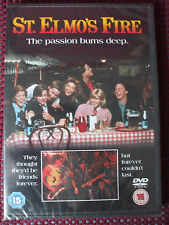"St. Elmo's Fire DVD.""The Passion Burns Deep"".BRAND NEW & SEALED."