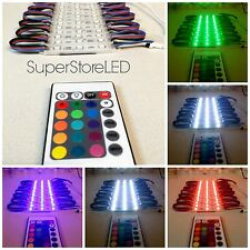 Multi Color 20 Pies LUCES LED PARA VENTANAS, VITRINAS, EXPOSITORES MODULO RGB