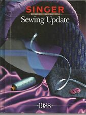 Singer Sewing Update 1988 Singer Sewing Reference Library Cy DeCosse Inc HC 1988