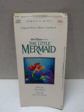 Hard To Find Disney Little Mermaid Longbox No Disc CD Soundtrack