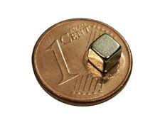 S473 Quadermagnete 16 Stück 4x4x4mm Power Magnete Neodym Magnet Würfel Pinnwand