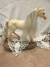 VINTAGE MATTEL TOY HORSE WITH MOVING HEAD