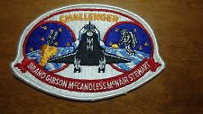 VINTAGE CHALLENGER BRAND GIBSON MCNAIR  SALESMAN COPY PATCH AB EMBLEM  BXY 158