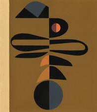CLASSIC MID-CENTURY EDGARD PILLET SERIGRAPH, PARIS, 1967