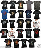 OFFICIAL Game Of Thrones T Shirts Stark Winter House Crests Targaryen Khaleesi