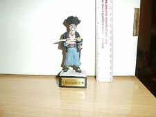 HAND CRAFTED  90mm 1/16 SCALE  CLAY PIRATE TOY SOLDIER BUCCANEER