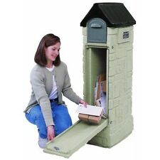 Large Mail Box Mailbox Heavy Duty Rural Secure Lock Hidden Package Delivery New