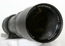Spiratone 400mm f6.3 Telephoto Lens  Stop Down T-Mount With M42 Screw Mount