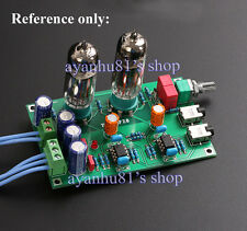 Class A 6J5 Vacuum Tube Preamp Preamplifier HIFI Headphone Amp DIY Kits EU