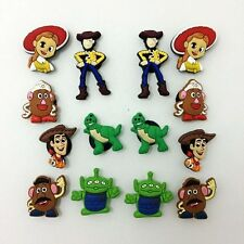 Toy Story Shoe Charms Bracelets Charm Decoration for /Croc/Jibbitz Gifts14pcs
