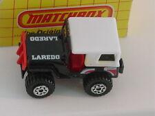 MATCHBOX YELLOW BOX #20 JEEP 4X4 LAREDO