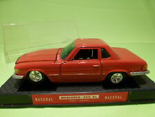 NACORAL 3511 MERCEDES BENZ 350 SL - RED 1:24 - VERY GOOD IN BOX