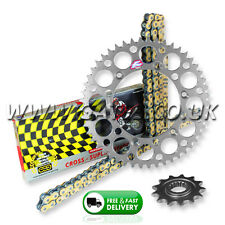 SUZUKI DRZ400E 2000-2011 Regina ORN O'Ring Chain And Silver Renthal Sprocket Kit