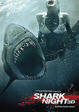 Shark Night 3D DVD 2012
