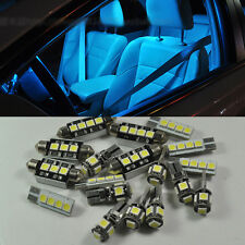 Error Free Ice Blue 14 LED Interior Light Kit For Audi A4 S4 RS4 B8 2008-2014