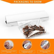 Brand Home Portable Seal Vacuum Food Bag Sealer Packaging Machine Kitchen Tools