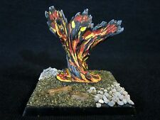 D&D Miniatures Lot - Fire Elemental - Stunningly Painted by Ken Longacre !!