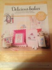 39 Delicious Bakes Designs          Cross Stitch Chart Only