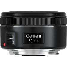 New Canon EF 50mm f/1.8 STM Fixed Focus Lens