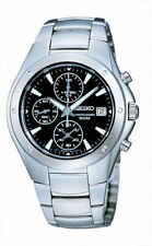 SCNP SND555P1 Seiko Gents Chronograph Stainless Steel Bracelet Watch