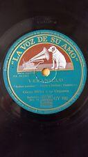 JAZZ 78 rpm RECORD VsA GLENN MILLER Orquesta VERANILLO / DESCUIDADO