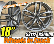 "18"" NEW RS6 GMP Style Alloy Wheels - AUDI A6 / VW PASSAT CC / VW SCIROCCO"