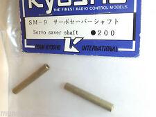 NEW KYOSHO SERVO SAVER  SHAFTS 2PCS BRASS SANDMASTER SM-9