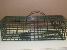 "Duke Cage Live Trap 16""x5""x5"" #1100 Trapping rabbit Squirrel Chipmunk Rat garden"