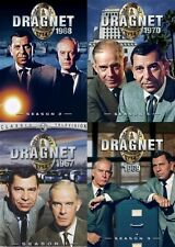 DRAGNET COMPLETE 1967 - 1970 TV SERIES New DVD Seasons 1 - 4 Season 1 2 3 4