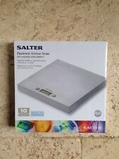 Salter Electronic Kitchen Scale with Stainless Steel  Platform Model:- 1004