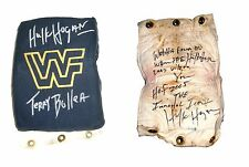 WWF WWE HULK HOGAN RING USED TURNBUCKLE SIGNED WITH PROOF