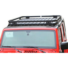 NEW Roof Mounted Luggage Cargo Storage Rack Jeep Wrangler JK 4dr 2007-2017