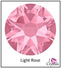 LIGHT ROSE Pink (223) Swarovski 9ss 2.5mm Crystal Flatback Rhinestones 2058 144