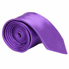 Hot Mens High Quality Italian Satin Plain Standard Normal Tie-Fast Delivery!