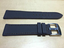 New - TECHNO Brown Leather Strap 20 mm - Correa Piel Marrón 20 mm - Nueva