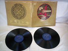THE FOUR SEASONS, EDIZIONE D'ORO(GOLD EDITION) 1970s DOUBLE 29 HITS,VG CONDITION