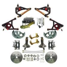 1964-1972 Chevelle Manual Disc Brake Conversion Kit & Tubular Control Arms Set