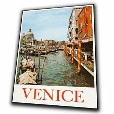 VENICE ITALY Vintage Retro Travel Advert METAL SIGN WALL PLAQUE art print poster