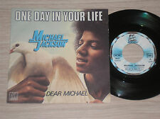 "MICHAEL JACKSON - ONE DAY IN YOUR LIFE - 45 GIRI 7"" FRANCE"