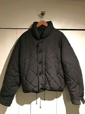 Dolce and Gabbana Men's Quilted Cotton/Poly Puffer Bomber Jacket Winter S:40 US