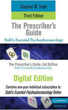 The Prescribers Guide Online Bundle (Stahls Essential Psychopharmacology), Stahl